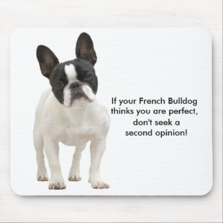 Humor del dogo francés, mousepad divertido, regalo