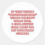 Humor del fotógrafo… que modela carrera etiquetas