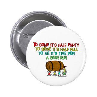 Humor del funcionamiento de la cerveza pin