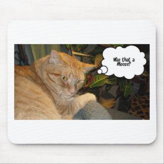 Humor del gato y del ratón tapete de ratones