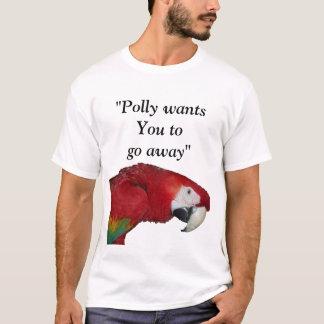Humor del loro de Polly Playera