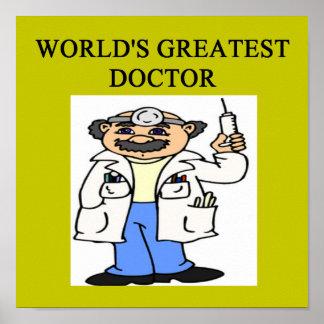 humor del médico del doctor impresiones