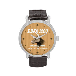 Humor del MOO de Deja Relojes De Mano