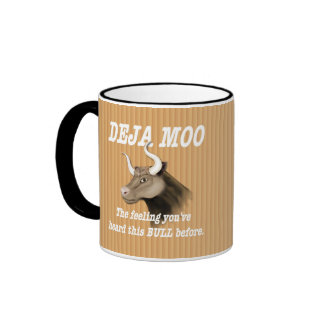 Humor del MOO de Deja Taza De Café