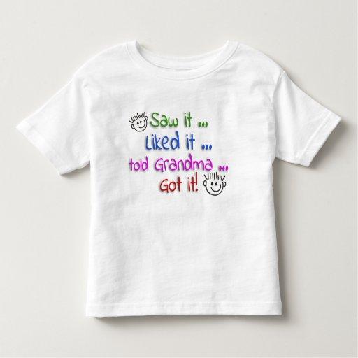 Humor del niño t-shirts