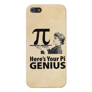 Humor del número del pi iPhone 5 carcasa