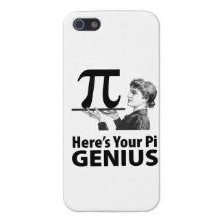 Humor del número del pi iPhone 5 protectores
