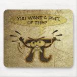 Humor del pi tapete de raton