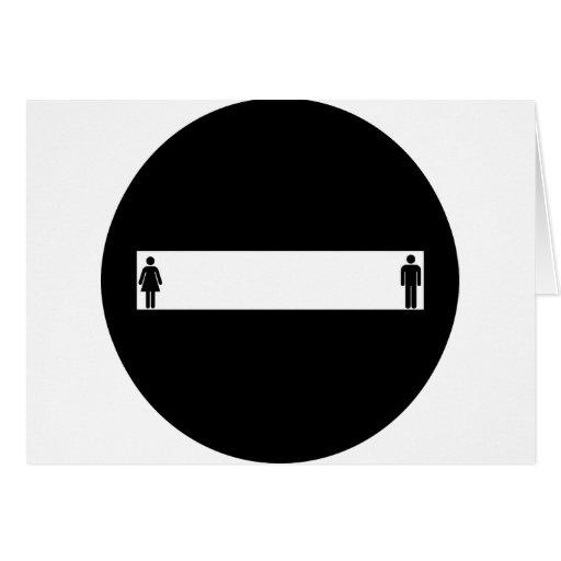 humor del pictograma tarjeta de felicitación