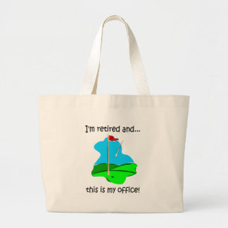 Humor del retiro para los golfistas bolsas