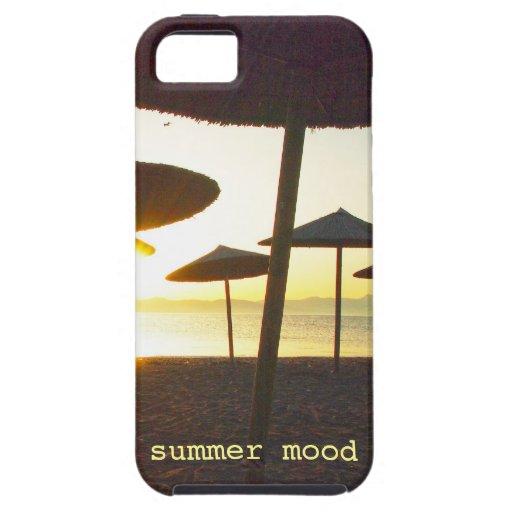 humor del verano iPhone 5 Case-Mate carcasas