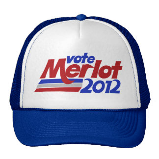 Humor del vino sobre el Merlot 2012 Gorros
