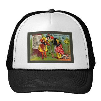 Humor del vintage, año bisiesto 1908 gorra