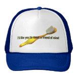 Humor divertido de la higiene oral gorras