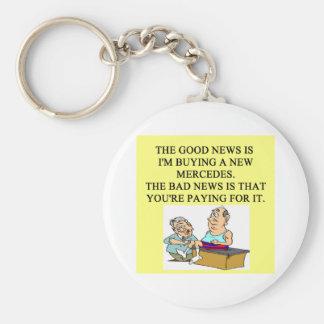humor divertido del doctor llavero redondo tipo pin