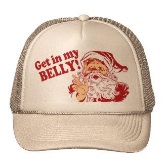 Humor divertido del navidad gorros