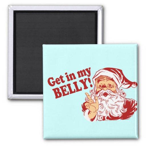 Humor divertido del navidad imanes