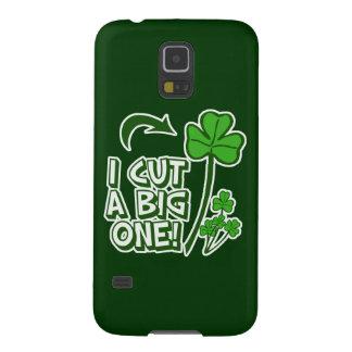 Humor el Farting del día de St Patrick Carcasas Para Galaxy S5