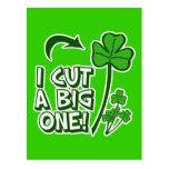 Humor el Farting del día de St Patrick Postal