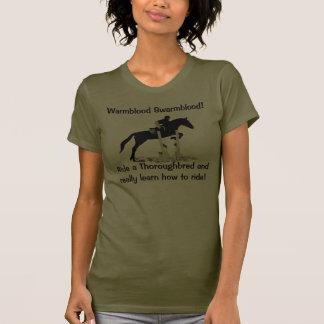 Humor excelente divertido de la gente del caballo camiseta