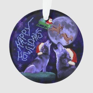 Humor feliz de Howlidays del navidad del