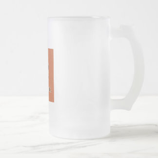 Humor_Id_Tap_That_Orange_Shirt 16 Oz Frosted Glass Beer Mug
