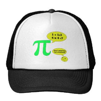Humor irracional del pi gorra
