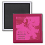Humor is mankind's greatest blessing. Mark Twain Refrigerator Magnets