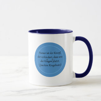 Humor is prevented the button,… mug