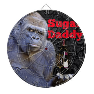 humor joke Funny Sugar Daddy Gorilla Dart Board