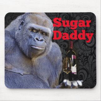 Silverback gorilla mouse pads zazzle for Sugar daddy jokes