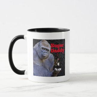 humor joke Funny Sugar Daddy Gorilla Mug