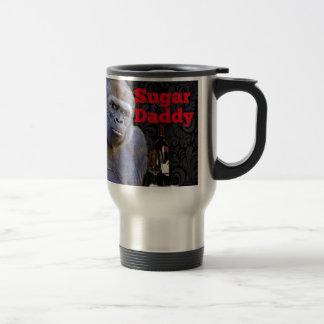 humor joke Funny Sugar Daddy Gorilla Travel Mug