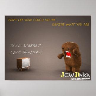 Humor judío póster