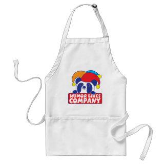 humor like company panda adult apron