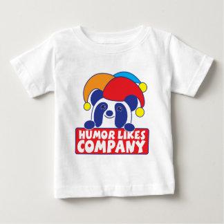 humor like company panda baby T-Shirt