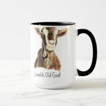 Humor Lovable Old Goat, Animal, Farm Pet Mug