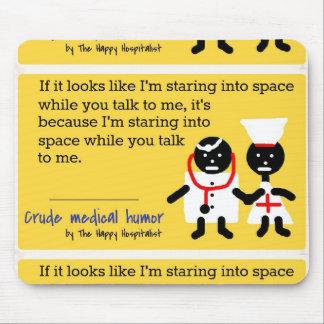 Humor médico alfombrilla de ratones