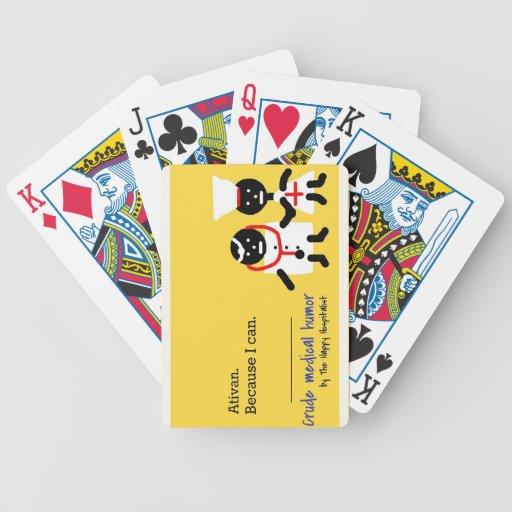 Humor médico baraja de cartas