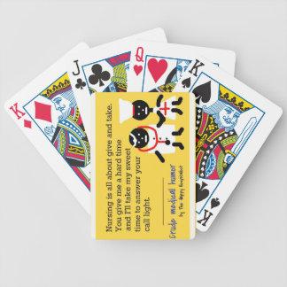 Humor médico barajas de cartas