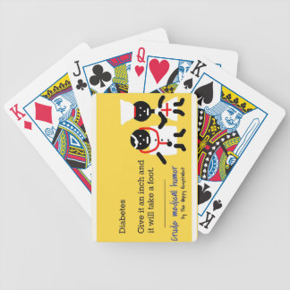 Humor médico cartas de juego