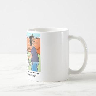 Humor médico del dibujo animado taza de café