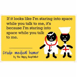 Humor médico esculturas fotográficas