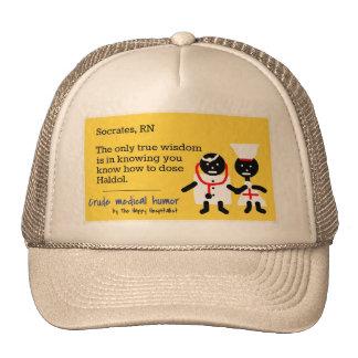 Humor médico gorras