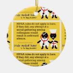 Humor médico ornamento para arbol de navidad