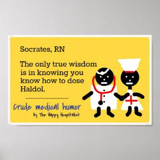 Humor médico poster