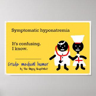 Humor médico impresiones