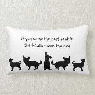 Humor mejor Seat en animal de mascota del perro de Cojín