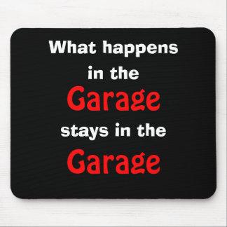 Humor Mousepad del garaje Tapete De Ratones