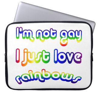 Humor no gay divertido de los arco iris del amor d manga computadora